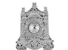 ساعت نقره رومیزی