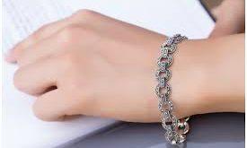 خرید انواع دستبند نقره